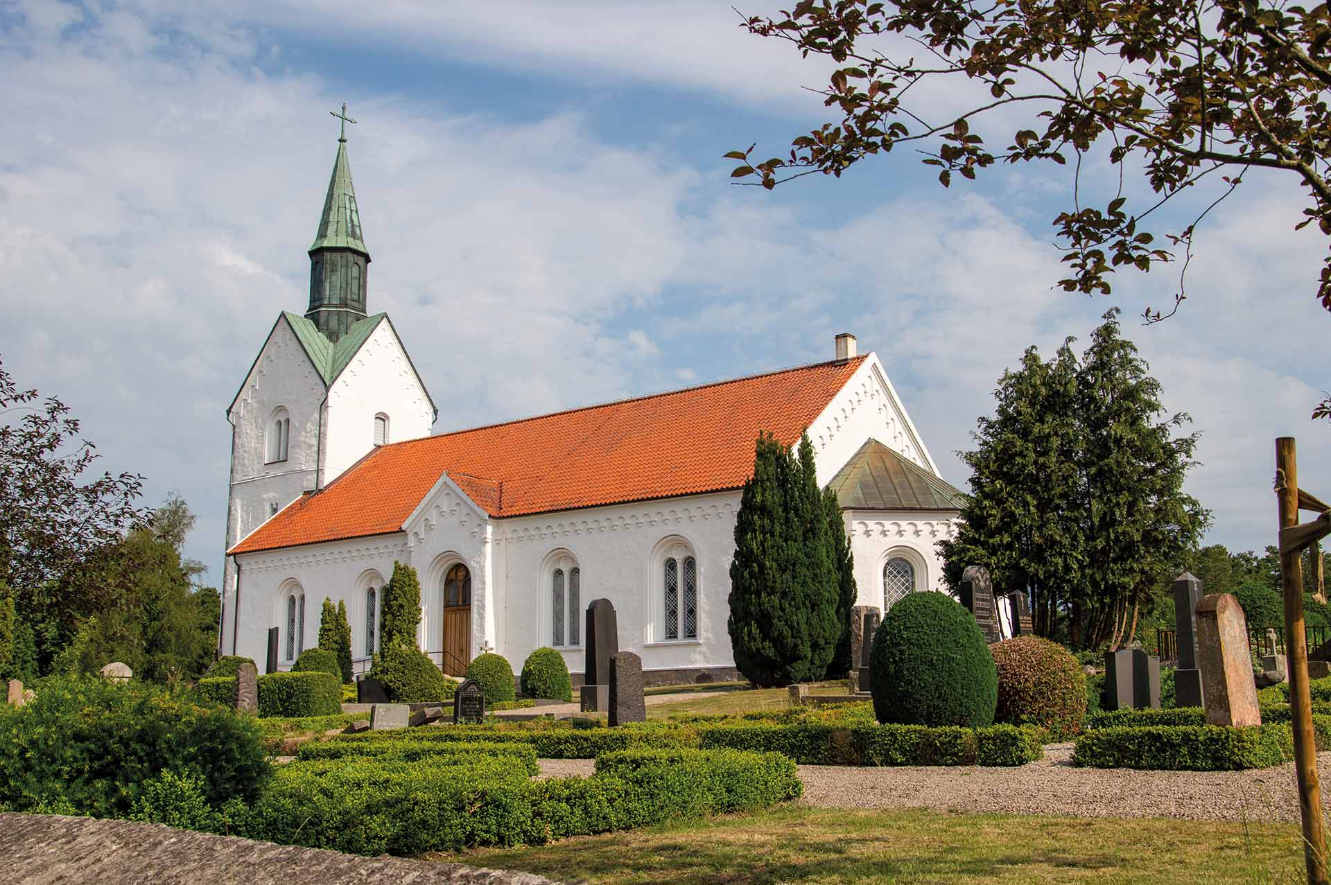 Holmby kyrka, foto Renée Backe